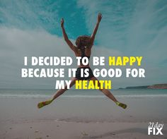 You're in charge of how you feel today! Think positive, smile & do what makes you feel good