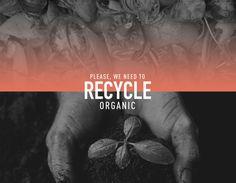 다음 @Behance 프로젝트 확인: \u201cWe need to Recycle\u201d https://www.behance.net/gallery/35692439/We-need-to-Recycle