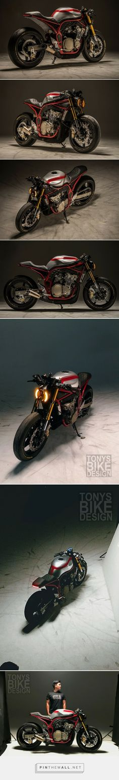 Suzuki Bandit 750 Cafe Sport by Tonys Bike Design