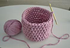Háčkovaný košík ze špagátů Baby Shoes, Crochet, Kids, Jar, Crochet Basket Pattern, Patterns, Young Children, Boys, Baby Boy Shoes