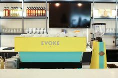 Gather at Cafe Evoke in Edmond, Oklahoma for a creative meeting or a catch-up…