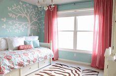Schemes teen bedroom colour