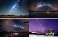 Amazing Milky Way - Solent News/REX Shutterstock/Rex Images; Solent News/REX/Shutterstock/Rex Images; ddp USA/REX/Shutte...