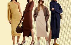 Song Of Style, Parisian Chic, Fall Wardrobe, Fashion Outfits, Womens Fashion, Fashion 2020, Knit Dress, Fashion Photography, Knitting