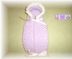 Preemie Bunting Baby Knitting Patterns, Baby Patterns, Crochet Patterns, Crochet Owls, Free Crochet, Knitting For Charity, Free Knitting, Preemie Babies, Preemies