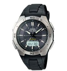 Casio Men's WVA470J-1ACF Waveceptor Solar Atomic Ana-Digi Sport Watch Casio. $72.41