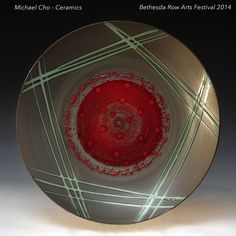 Bethesda Row Arts Festival. October 18 & 19 2014. Michael Cho - Ceramics