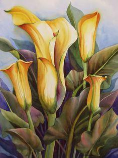 Calla Lilies by Sue Zimmermann