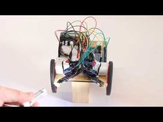 The finished Zombiebot: a torch-controlled robot - YouTube