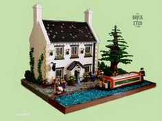 Hi everyone, here is my latest MOC The Brick and Stud Tavern which I've been working on for the last couple of months, a couple of bricklink orders slowed t...