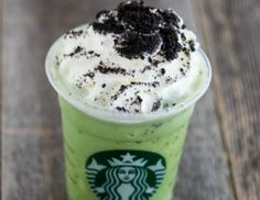 Thin Mint Frappuccino - Starbucks Secret Menu