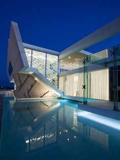 Futuristic Residence in Athens by 314 Architecture Studio