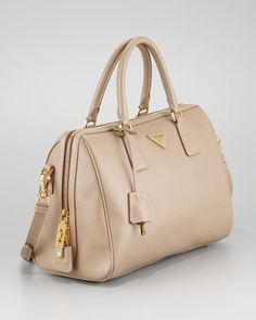 Prada Saffiano Lux Tote Bag - Neiman Marcus