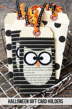 Meine Owl Barn: DIY: Halloween-Geschenk-Kartenhalter