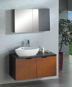 Ariel 39.5'' Modern Bathroom Vanity A-013 $1,076.00