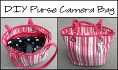 Purse Camera Bag Tutorial. #PeekabooPages #PeekabooPatternShop