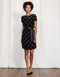 Boden Amelie Dress Black Spot Women Boden, Black Spot This clever little dress strikes the perfect balance between casual and elegant in its semi-sheer devoré fabric. Combining a relaxed shape with luxurious velvet spots, youll look equally at home in t http://www.MightGet.com/april-2017-1/boden-amelie-dress-black-spot-women-boden-black-spot.asp