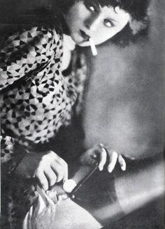 German Prostitute, 1920, Manasse