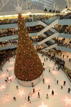 Christmas. Galleria. Dallas.