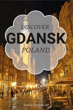 The Baltic city of Gdansk Poland is the perfect vacation break if you're in Poland. There are plenty of things to do and see from wandering the amber jewelry shops to dining in a water front restaurant. Croatia Travel, Thailand Travel, Bangkok Thailand, Poland Travel, Italy Travel, Best Places To Travel, Cool Places To Visit, Malbork Castle, Gdansk Poland