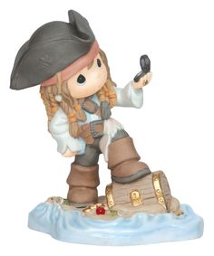 Precious Moments Disney Showcase Collection I Found My Treasure Bisque Porcelain Figurine 143022 ** To view further for this item, visit the image link. Disney Precious Moments, Precious Moments Figurines, Disney Figurines, Collectible Figurines, Disney Statues, Chibi, Porcelain Dolls For Sale, Captain Jack Sparrow, Biscuit