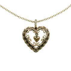 Kalevala Koru / Kalevala Jewelry / HEART OF THE HOUSE PENDANT Designer: Tony Granholm, material: bronze or silver