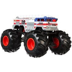 Hot Wheels Monster Trucks 1:24 Scale Alarm Vehicle Hot Wheels, Toys R Us Canada, Diecast, Monster Trucks, Vehicles, Scale, Fun, Kids, Storytelling
