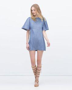Summer Denim: 20 Pieces To Wear All Season Long #dress