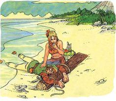 Classic Legend Of Zelda Artwork By Katsuya Terada