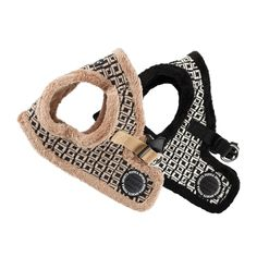 #Puppia Damier Vest Harness for dogs has a fleece lining and geometric pattern. Perfect for keeping pets warm, safe and secure on dog walks during Fall/Winter. Click to shop this item. http://www.chic-dog-boutique.com/Puppia_Damier_Vest_Harness_p/pup-papd-ah1351.htm