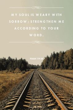 Psalm 119:28. Jehovah promises to renew your broken spirit. What must we do? Look to his word for guidance. It's simple, we have to follow him closely. Do what he loves and stay clear of what he hates. When we've spent time away from Jehovah the joy he used to bring is now forgotten. Approach Jehovah again, and see that he'll replace that sorrow with seasons of refreshing. Take the step, what are you waiting for?