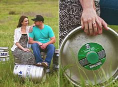Cassidy   Justy | A Vintage Couch engagement session with a touch of Stone #stone #stonebrewery #beer www.studiosequoia.com