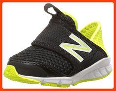 New Balance KV150SV1 Infant Running Shoe (Infant/Toddler), Black/Yellow, 21.5 W EU (*Partner Link)