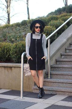 A Love Affair With Fashion : Overall Dress
