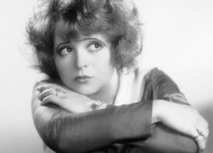 """""""Girls want to be her, boys want to date her, and old people thought she was a sign of the apocalypse, which obviously meant she was star material.""""  -the infamous Clara Bow"""