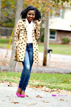 How to Style a Trench Coat: Fashion a La Mode Link Up - Lisa a la mode by @Lisalamode