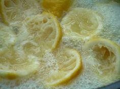 Gelée de citrons maison