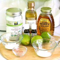 Margaritas! For your face! A copycat LUSH recipe that makes your skin feel and look amazing.