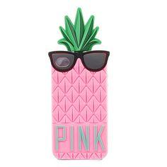 Coque iPhone 4/4S Pineapple - Rose