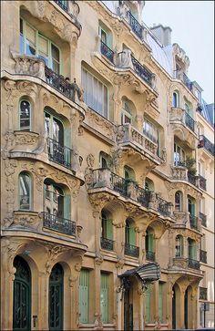 Immeuble art nouveau d'Octave Raquin à Paris | Flickr: partage de photos!