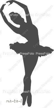 ballerina stencils printable - Google Search
