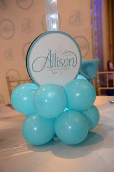 Turquoise Balloon Base