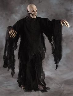 Complete Grim Reaper (Death) Adult Halloween Costume Set - Click image twice for more info - See a larger selection of mens halloween costume at http://costumeriver.com/product-category/mens-halloween-costumes/ -  holiday costume , event costume , halloween costume, cosplay costume, classic costume, scary costume, super heroes costume, classic costume, clothing