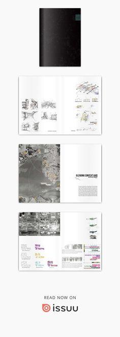 Architectural portfolio 2017  Architectural portfolio, Architect, Design, Sketch, Drawing,archjun