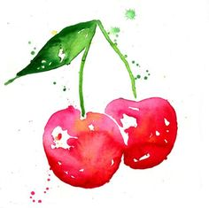 cherries, fun!