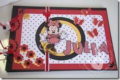 Livro de Assinaturas Minnie