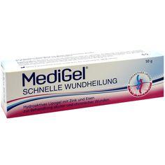 MEDIGEL Schnelle Wundheilung:   Packungsinhalt: 50 g Gel PZN: 10333576 Hersteller: MEDICE Arzneimittel Pütter GmbH&Co.KG Preis: 6,36 EUR…