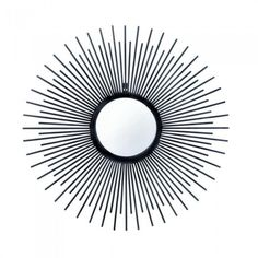 Accent Plus 10017079 Iron Rays Wall Mirror
