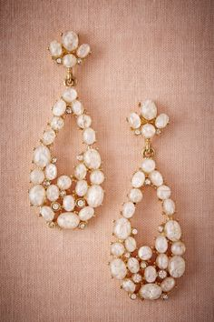 Promenade Chandelier Earrings from @BHLDN