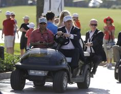 Teed off: Critics say Trump water rule helps his golf links
